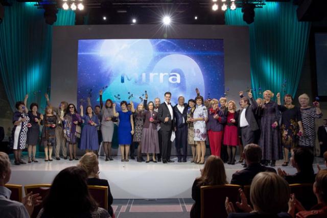 МАРАФОН в честь 20-летия компании MIRRA